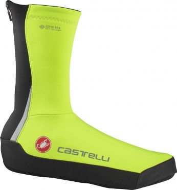 Castelli Intenso UL shoecovers yellow heren