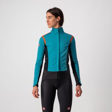 Castelli Alpha RoS 2 jersey long sleeve blue women