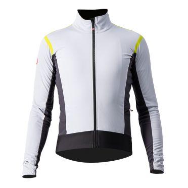 Castelli Alpha RoS 2 light cycling jacket silvergray men