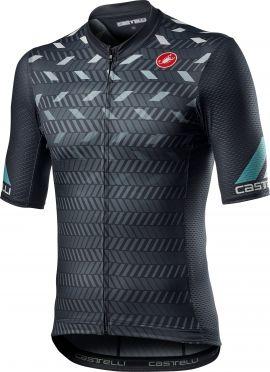 Castelli Avanti short sleeve jersey dark grey men