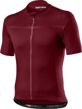 Castelli classifica short sleeve jersey red men