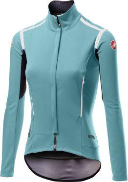 Castelli Perfetto RoS cycling jacket long sleeve blue women