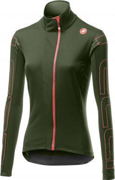 Castelli Transition 2 W cycling jacket green woman