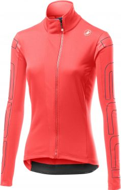 Castelli Transition 2 W cycling jacket pink woman