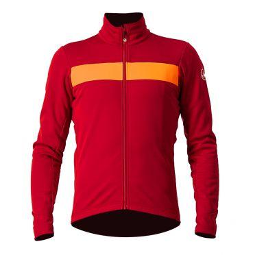 Castelli Raddoppia 3 cycling jacket red men