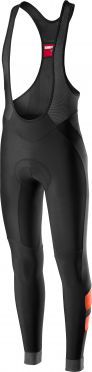 Castelli Velocissimo 4 bibtight black/orange men