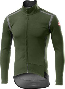 Castelli Perfetto RoS long sleeve cycling jacket green men