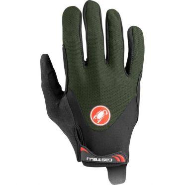 Castelli Arenberg gel LF glove green men