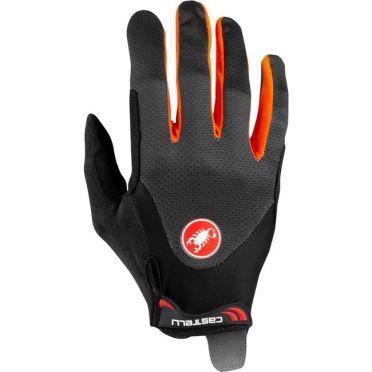 Castelli Arenberg gel LF glove Orange men