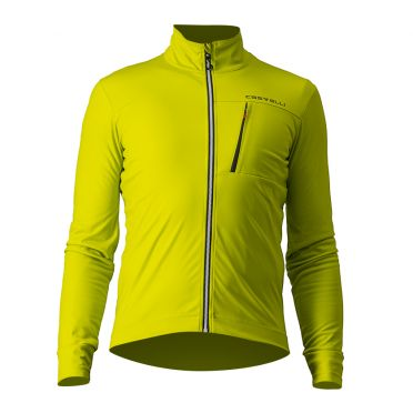 Castelli GO cyling jacket yellow men