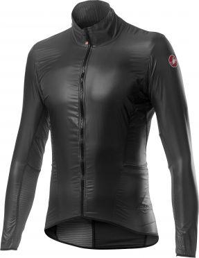 Castelli Aria shell cycling jacket grey woman