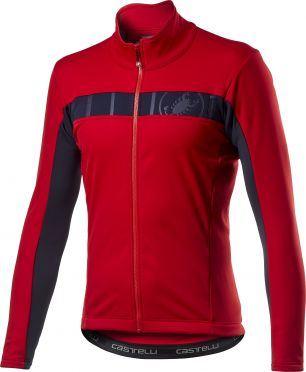 Castelli Motrirolo VI cycling jacket red men