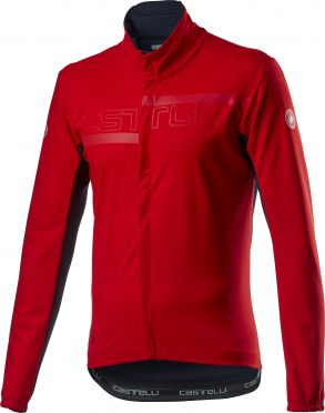 Castelli Transition 2 cycling jacket red men