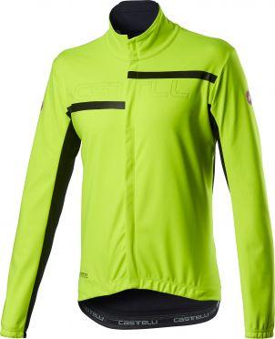 Castelli Transition 2 cycling jacket yellow men