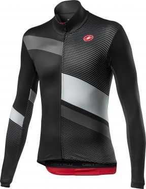 Castelli Mid Thermal Pro LS jersey long sleeve black men