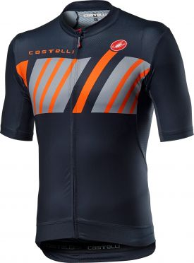 Castelli Hors Categorie short sleeve jersey savile blue men