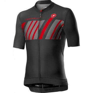 Castelli Hors Categorie short sleeve jersey dark grey men