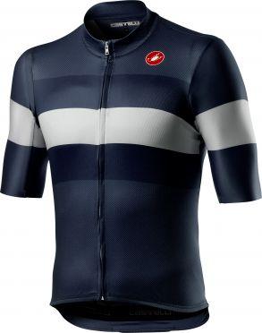 Castelli LaMITICA short sleeve jersey savile blue men