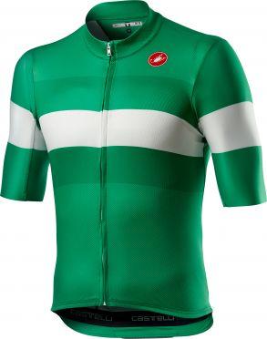Castelli LaMITICA short sleeve jersey green men