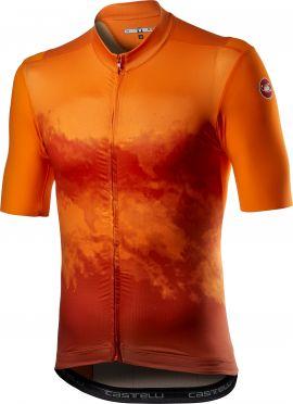 Castelli Polvere short sleeve jersey orange men