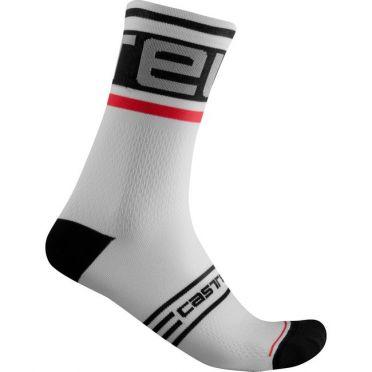 Castelli Prologo 15 cycling sock white men