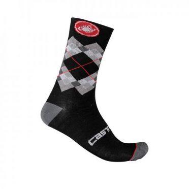 Castelli Rombo 18 cycling socks black men