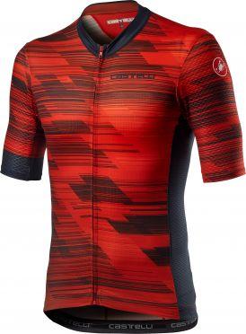 Castelli Rapido short sleeve jersey red men