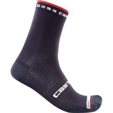 Castelli Rosso corsa 15 cycling sock blue men