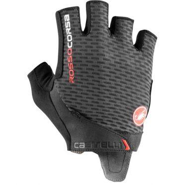 Castelli Rosso corsa Pro V glove dark grey men