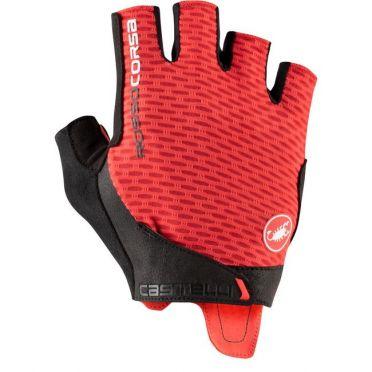 Castelli Rosso corsa Pro V glove red men