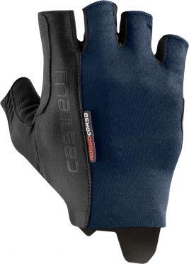 Castelli Rosso Corsa Espresso glove savile blue men