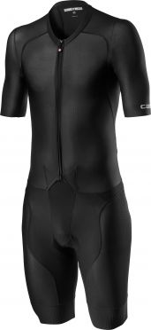 Castelli Sanremo 4.1 speed suit short sleeve black men