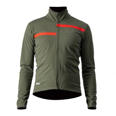 Castelli Transition 2 cycling jacket green men