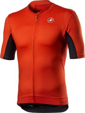 Castelli Vantaggio short sleeve jersey red men