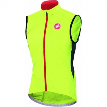 Castelli Velo vest yellow-fluo mens 14027-032