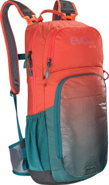 Evoc CC 16 liter backpack red/green