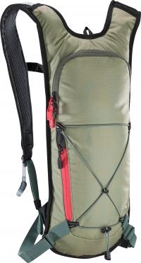 Evoc CC 3L + 2L bladder backpack green