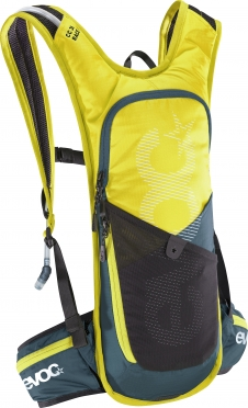 Evoc CC race 3L + 2L bladder backpack yellow/green
