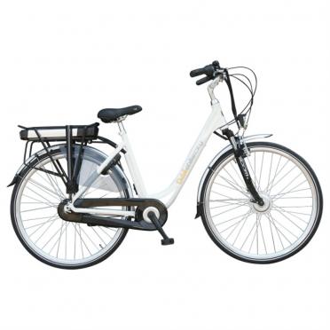Dutchebike electric ladies bike city white