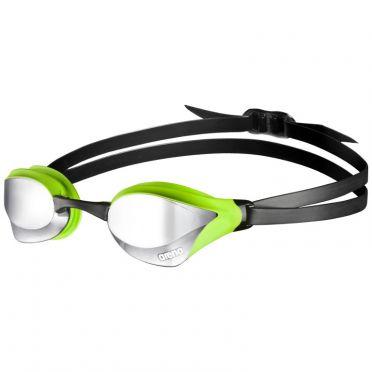 Arena Cobra Core mirror goggles silver/green