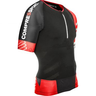 Compressport Trail running shirt v2 compression top black