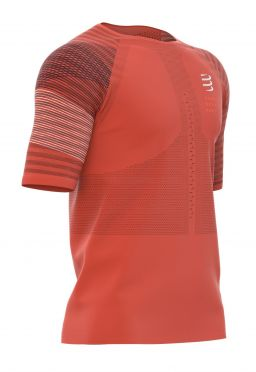 Compressport Racing ss t-shirt orange men