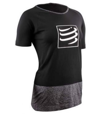Compressport Training t-shirt black woman
