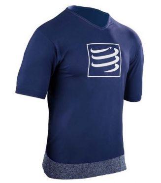 Compressport Training t-shirt blue men