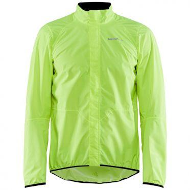 Craft Adopt Rain cycling jacket yellow men