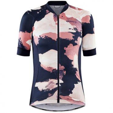 Craft Advanced Endurance jersey SS blue/pink woman