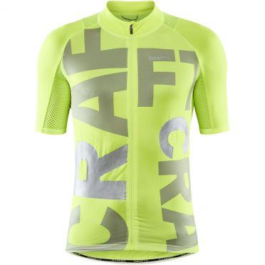 Craft Advanced Endurance Lumen jersey SS yellow men