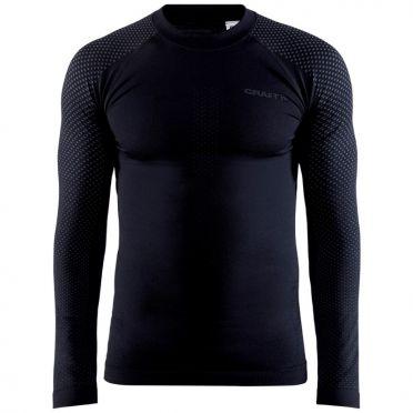 Craft Advanced Warm Fuseknit Intensity baseleyer long sleeve black men