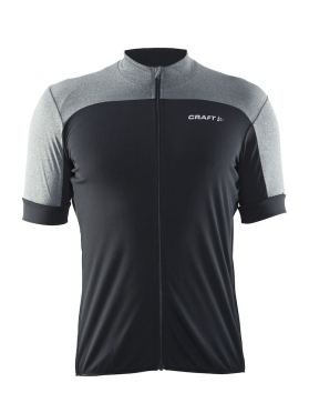 Craft Balance cycling jersey black/grey men