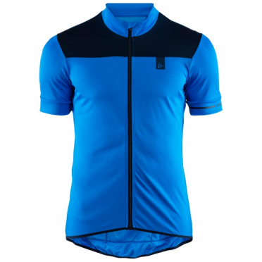Craft Point cycling jersey blue men